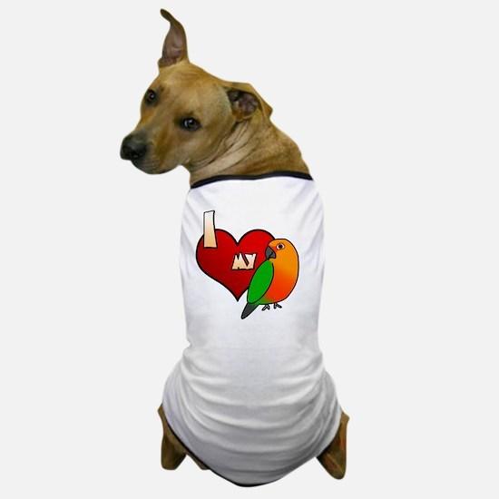 iheartmy_jenday_blk Dog T-Shirt