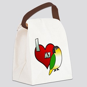 iheartmy_blackhead Canvas Lunch Bag