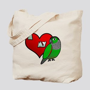 iheartmy_blackcap_blk Tote Bag