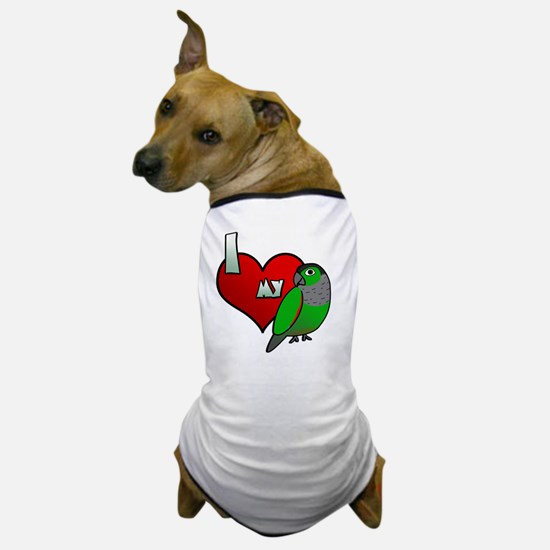 iheartmy_blackcap_blk Dog T-Shirt