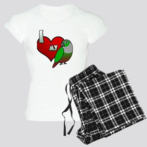 iheartmy_greencheekedconure Women's Light Pajamas