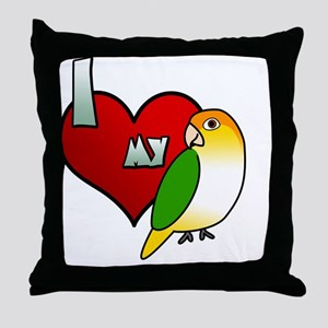 iheartmy_wbcaique Throw Pillow
