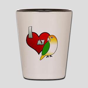 iheartmy_wbcaique Shot Glass