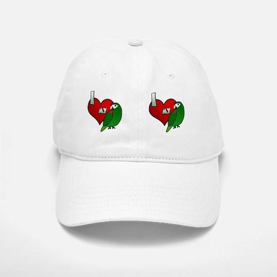 iheartmy_noblemacaw_mug Baseball Baseball Cap