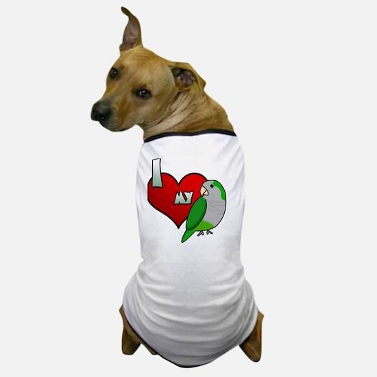 iheartmy_quaker_blk Dog T-Shirt
