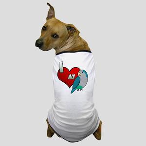 iheartmy_quakerblue Dog T-Shirt
