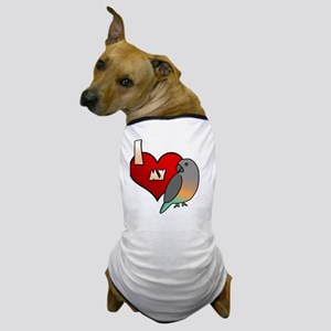 iheartmy_redbellied_blk Dog T-Shirt