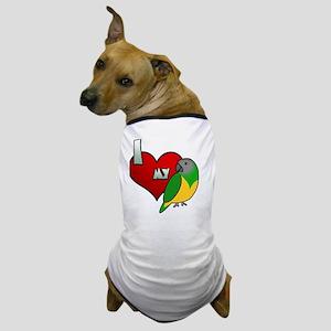 iheartmy_senegal_blk Dog T-Shirt