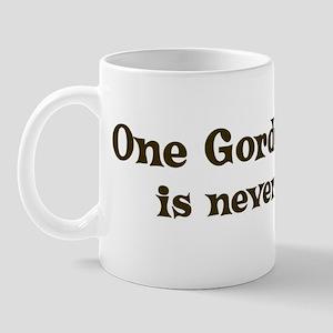 One Gordon Setter Mug