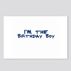 I'm the Birthday Boy Postcards (Package of 8)