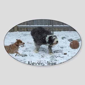 dogs_ofwhatsimportant Sticker (Oval)