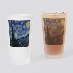 The Starry Night Drinking Glass