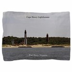Cape Henry Lighthouses Pillow Sham