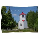 Baileys Harbor Range Lights Pillow Sham