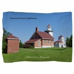 Sherwood Point Lighthouse Pillow Sham