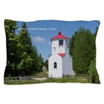 Baileys Harbor Range Lights Pillow Case