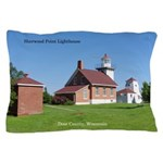 Sherwood Point Lighthouse Pillow Case
