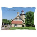 Eagle Bluff Lighthouse Pillow Case
