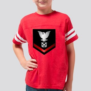 navy_e4_boatswain Youth Football Shirt