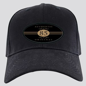 85th Birthday Humor Black Cap