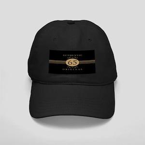 65th Birthday Humor Black Cap