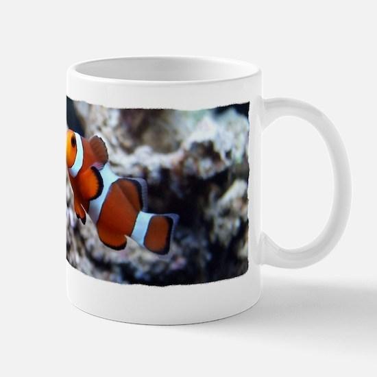 clownfish_blk Mug