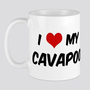 I Love: Cavapoo Mug