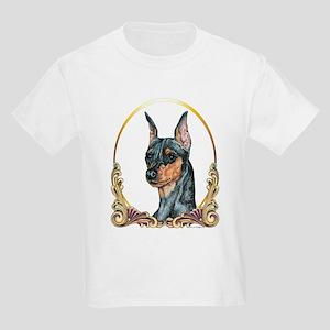 Miniature Pinscher Holiday/Xmas Kids T-Shirt