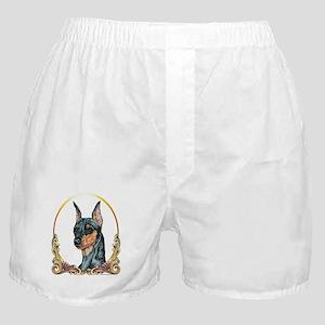 Miniature Pinscher Holiday/Xmas Boxer Shorts