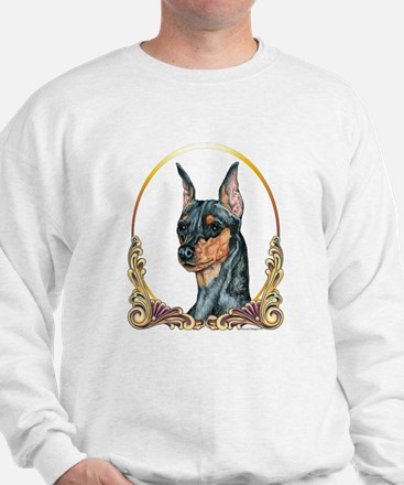 Miniature Pinscher Holiday/Xmas Sweatshirt