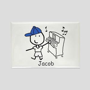 Piano - Jacob Rectangle Magnet