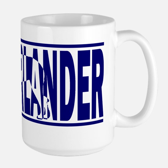 hidden_munsterlander Large Mug