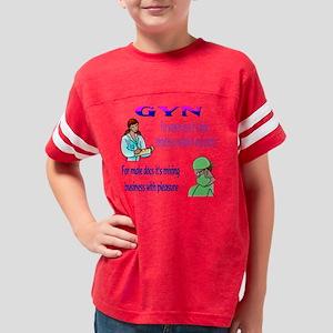 gynecology new Youth Football Shirt