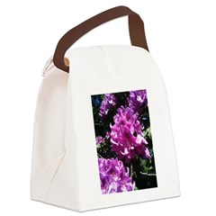 Flowers of Paradise Canvas Lunch Bag