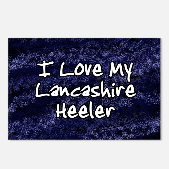 lancashire_funkylove_oval Postcards (Package of 8)
