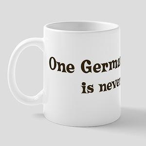 One German Shepherd Mug
