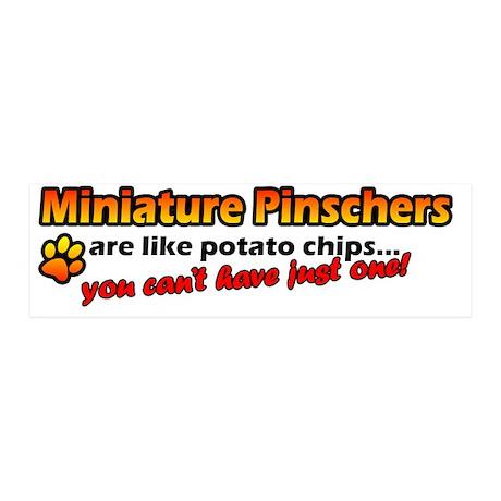 minpin_potatochips 20x6 Wall Decal