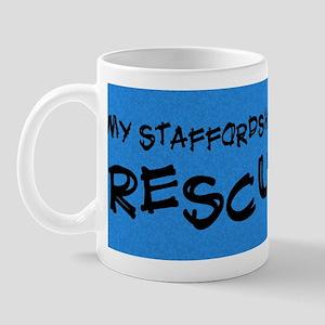 rescuedog_staffordshire Mug