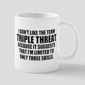 Triple Threat 11 oz Ceramic Mug