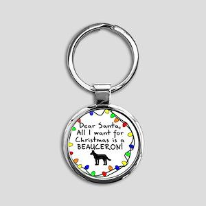 ds_beauceron Round Keychain