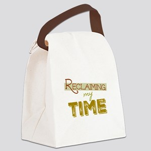 Reclaiming My Time Canvas Lunch Bag