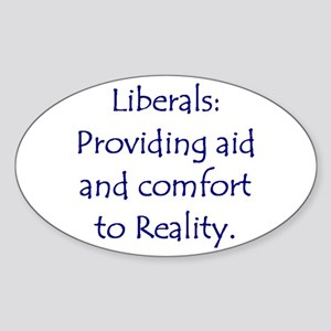 Liberals: Aid and Comfort to Oval Sticker