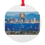 San Diego Police Skyline Ornament