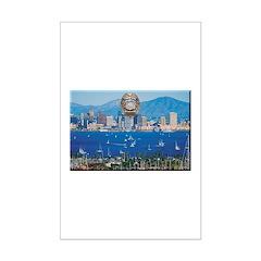 San Diego Police Skyline Posters