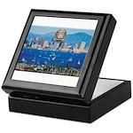 San Diego Police Skyline Keepsake Box