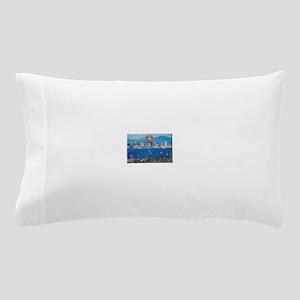 San Diego Police Skyline Pillow Case