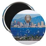 San Diego Police Skyline Magnet