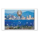 San Diego Police Skyline Sticker