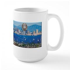 San Diego Police Skyline Mug