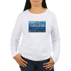 San Diego Police Skyline Long Sleeve T-Shirt